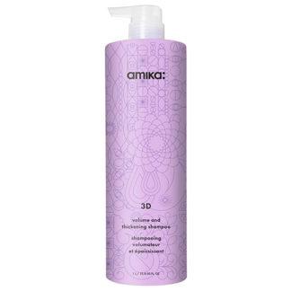Amika 3D Volume and Thickening Shampoo 1000ml