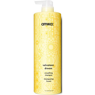 Amika Velveteen Dream Smoothing Shampoo 1000ml