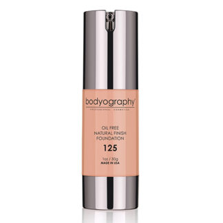 Bodyography Oil Free Natural Finish Foundation Light 125