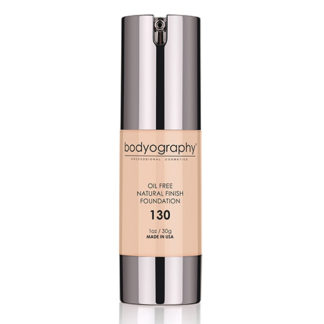 Bodyography Oil Free Natural Finish Foundation Light/Med 130