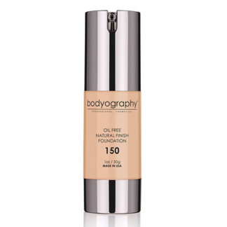 Bodyography Oil Free Natural Finish Foundation Light/Med 150