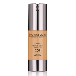 Bodyography Oil Free Natural Finish Foundation Med/Dark 200