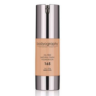 Bodyography Oil Free Natural Finish Foundation Medium 165