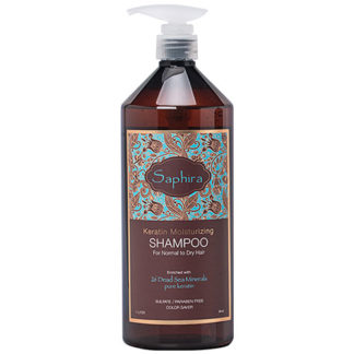 Saphira Keratin Moisturizing Shampoo 1000ml